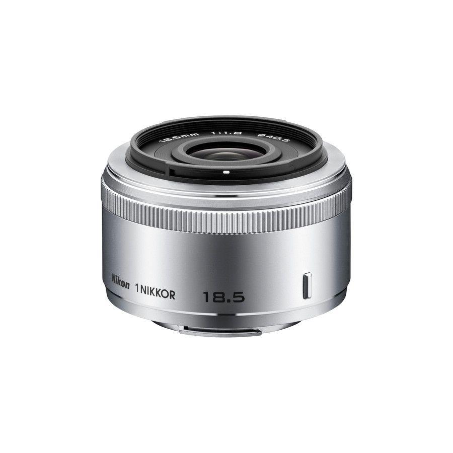 Nikon 1 NIKKOR 18.5mm f/1.8 Silver JVA102DB objektiv