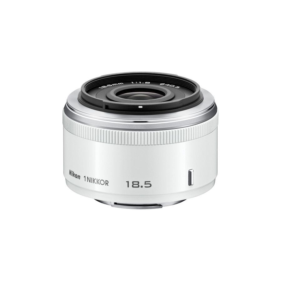 Nikon 1 NIKKOR 18.5mm f/1.8 White JVA102DC objektiv