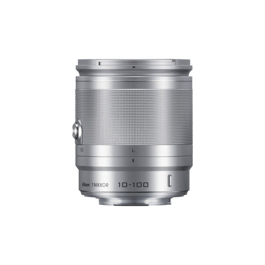 Nikon 1 NIKKOR VR 10-100mm f/4.0-5.6 Silver JVA705DB objektiv