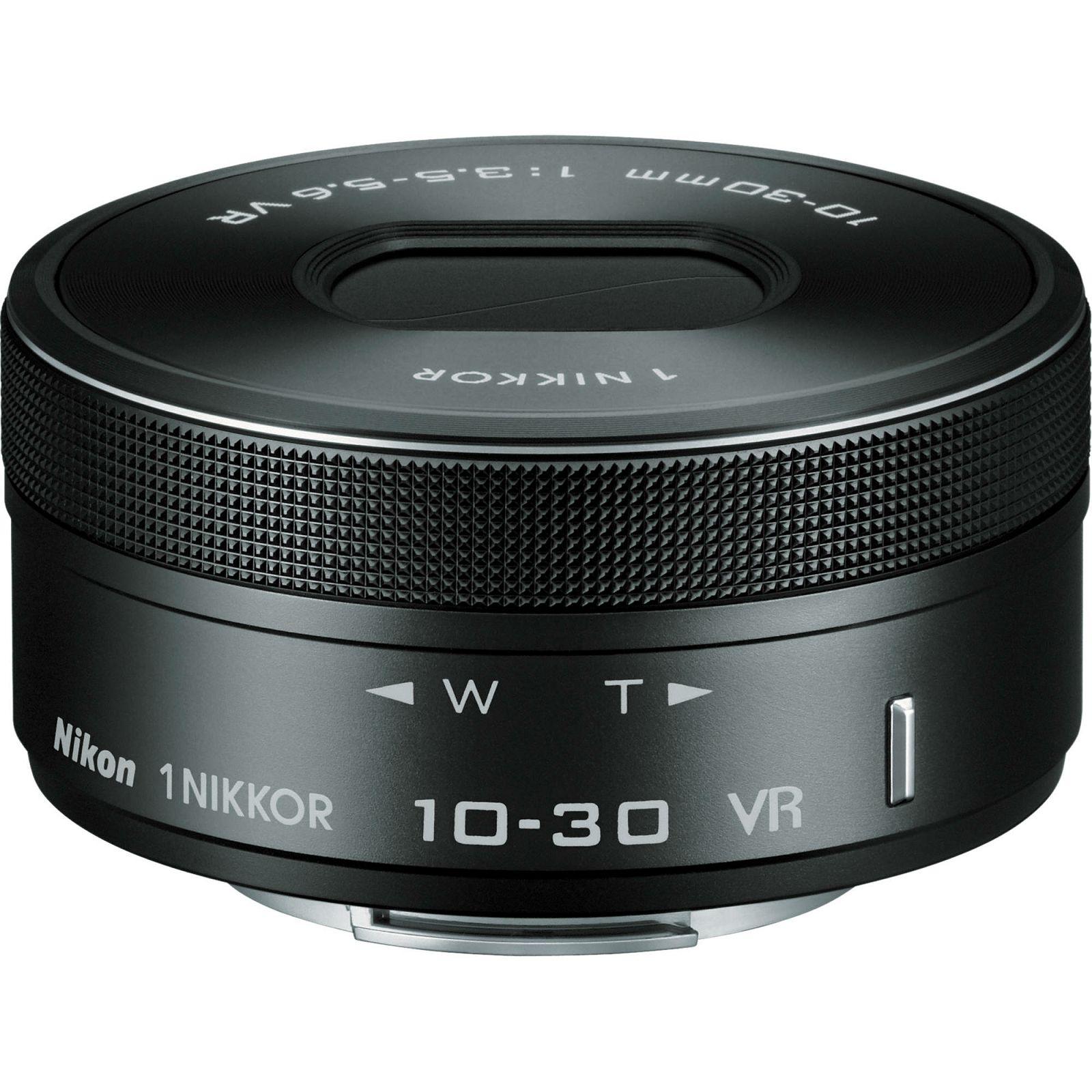 Nikon 1 NIKKOR VR 10-30mm f/3.5-5.6 PD-ZOOM Black objektiv (JVA707DA)