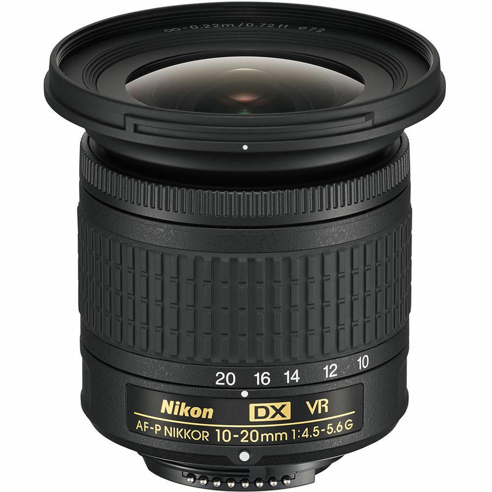 Nikon AF-P 10-20mm f4.5-5.6G VR DX ultra širokokutni objektiv s optičkom stabilizacijom Nikkor 10-20 f4.5-5.6 G wide zoom lens (JAA832DA)