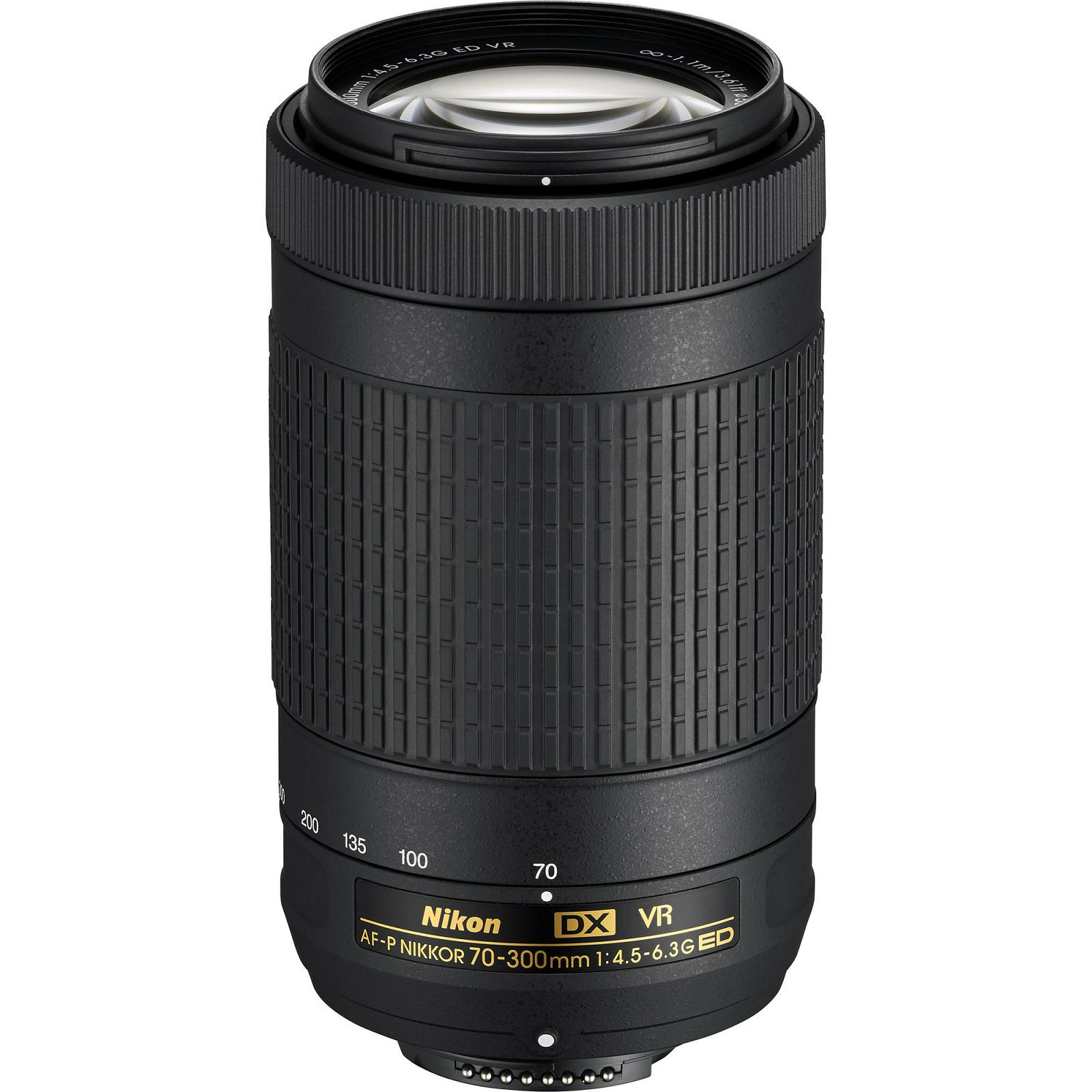 Nikon AF-P 70-300mm f/4.5-6.3G ED VR DX telefoto objektiv Nikkor 70-300 4.5-6.3 G (JAA829DA)