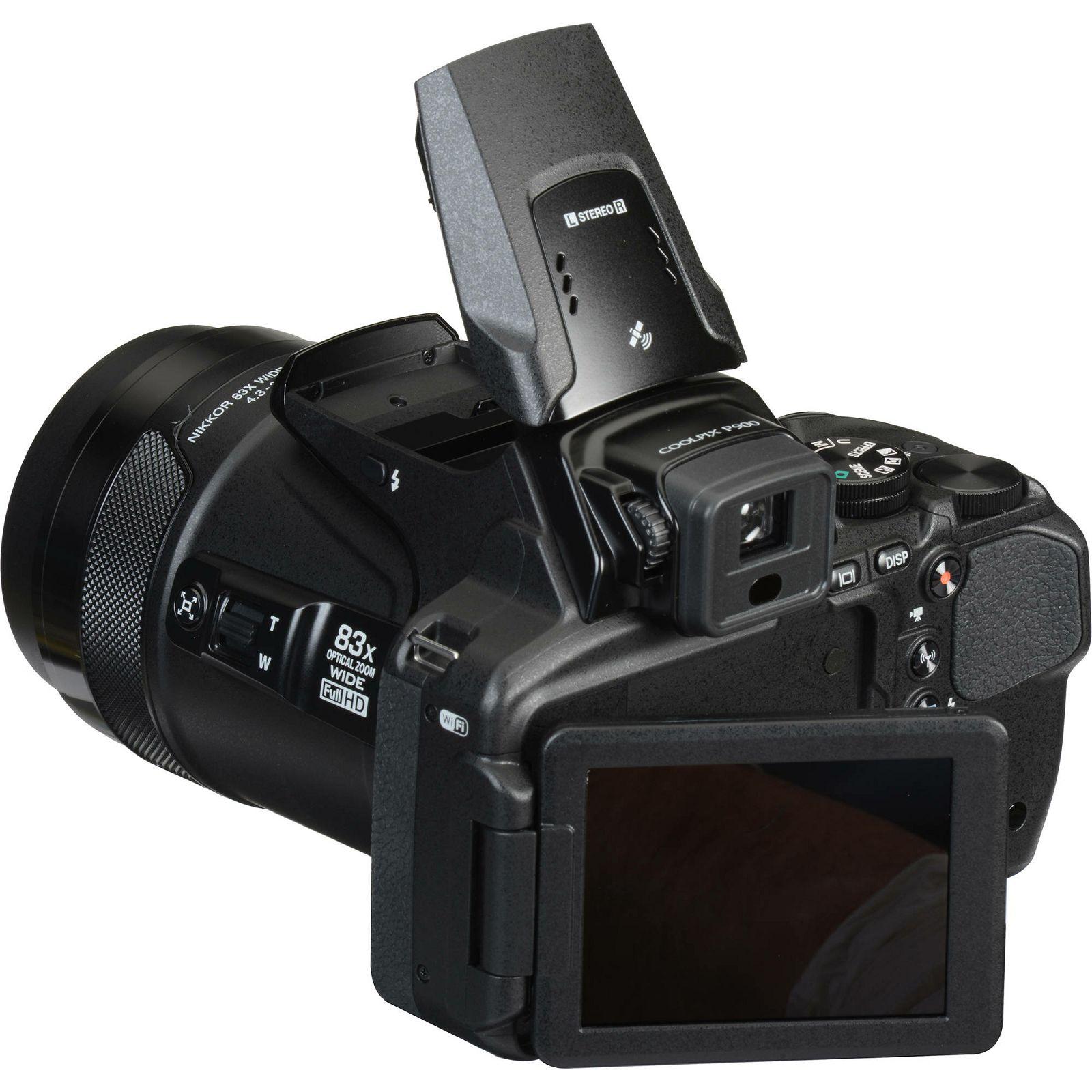 Nikon Coolpix P900 digitalni kompaktni fotoaparat s 83x zoom objektivom  (VNA750E1)