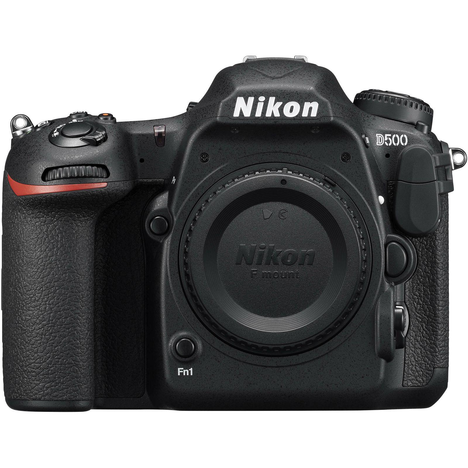 Nikon D500 Body 4K UHD 20.9MP DX DSLR Digitalni fotoaparat tijelo Camera (VBA480AE) - TRENUTNA UŠTEDA
