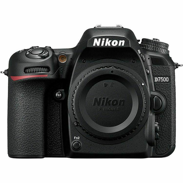 Nikon D7500 + 35mm 1.8G KIT DSLR digitalni fotoaparat i objektiv Nikkor AF-S DX 35mm f/1.8G (VBA510K007) - ZIMSKA PROMOCIJA