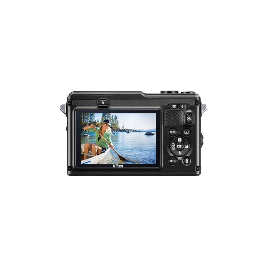 Nikon1  AW1  + 1 NIKKOR AW 11-27,5 mm  Black VVA201K001 fotoaparat