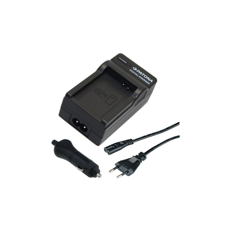 Patona LC-E8 punjač za LP-E8 baterije za Canon 550D 600D 650D 700D + 12V adapter za punjenje u automobilu