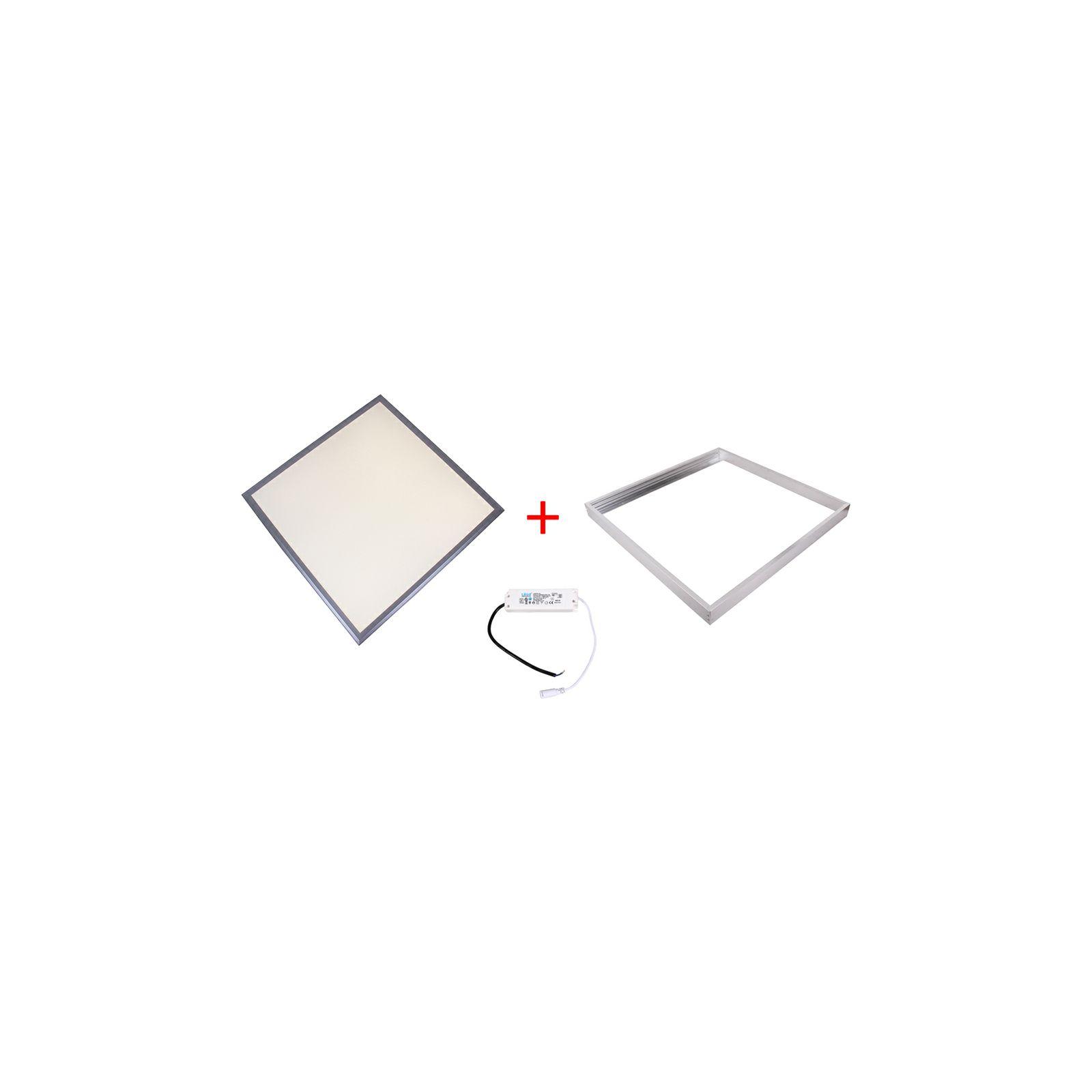 Patona LED panel 600x600x9 frame trasnformer 36W 3300lm 4000-4500K natur white AC 200-240V Frame Transformer complet set 60x60x0,9cm
