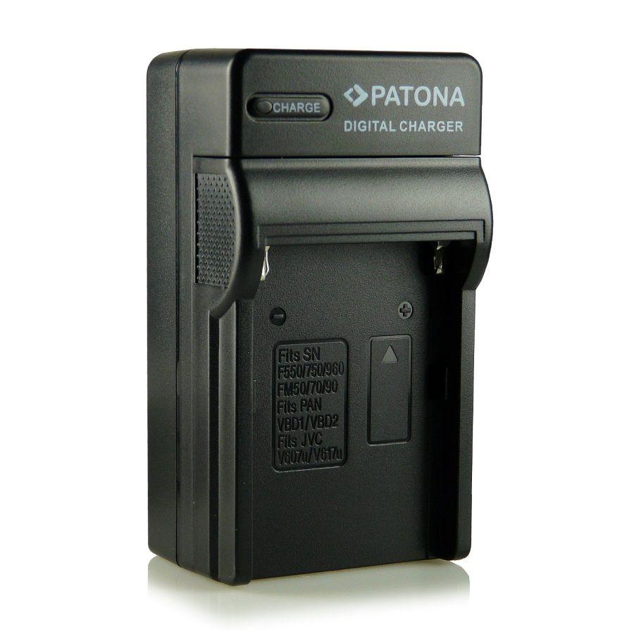 Patona punjač za NP-F970, NP-F550 NP-F990 baterije NP-FM50 8.4V