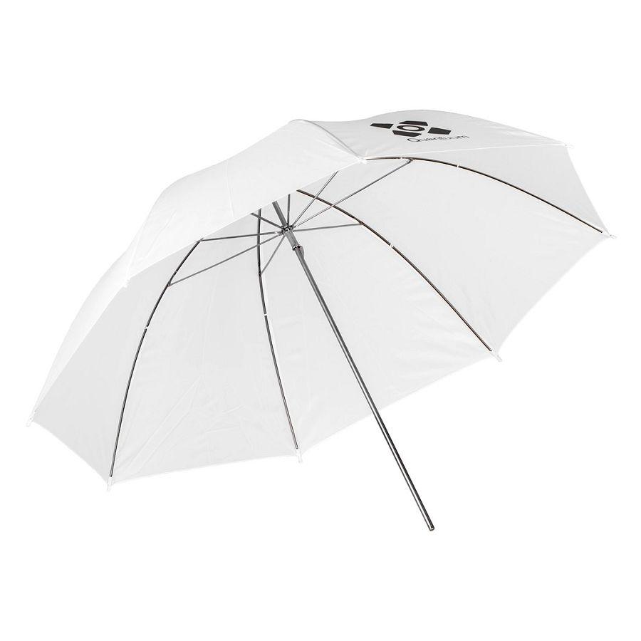 Quantuum foto kišobran bijeli difuzni studijski 120cm Transparent Umbrella