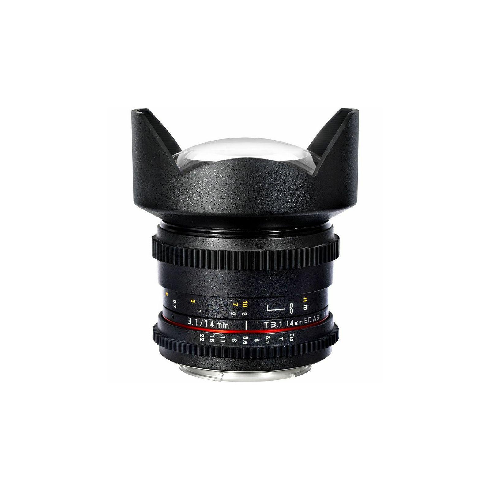 Samyang 14mm T3.1 ED AS IF UMC VDSLR širokokutni objektiv za Nikon FX