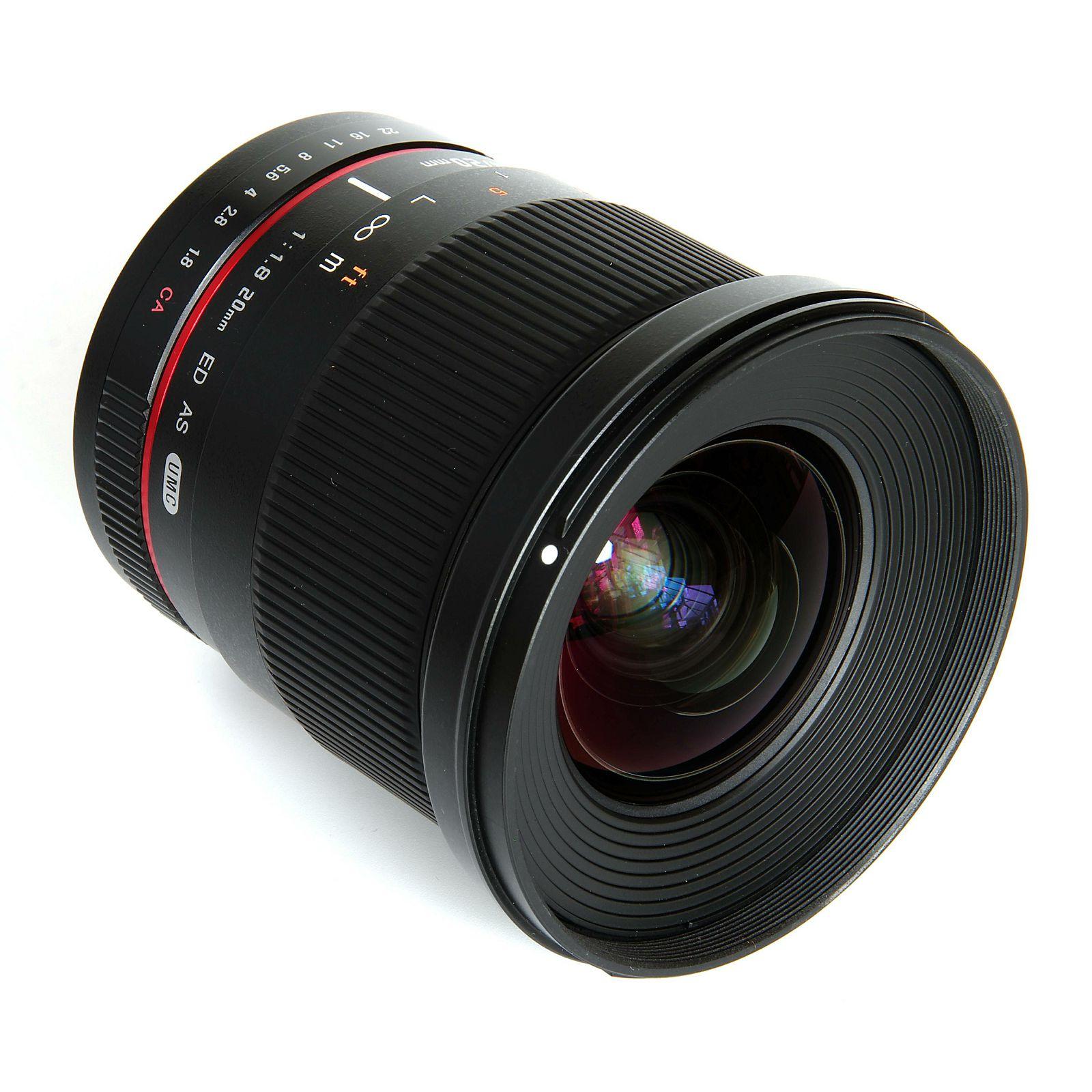 Samyang 20mm f/1.8 ED AS UMC širokokutni objektiv za Samsung NX