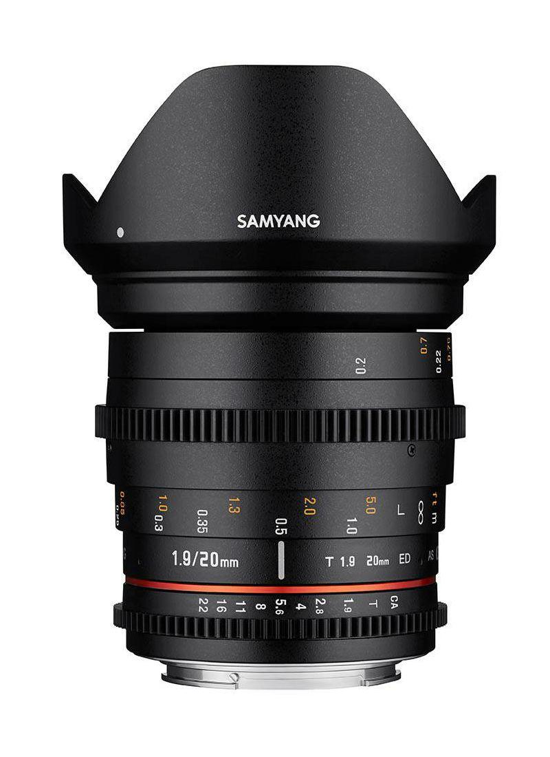 Samyang 20mm T1.9 VDSLR II ED AS UMC širokokutni objektiv za Samsung NX