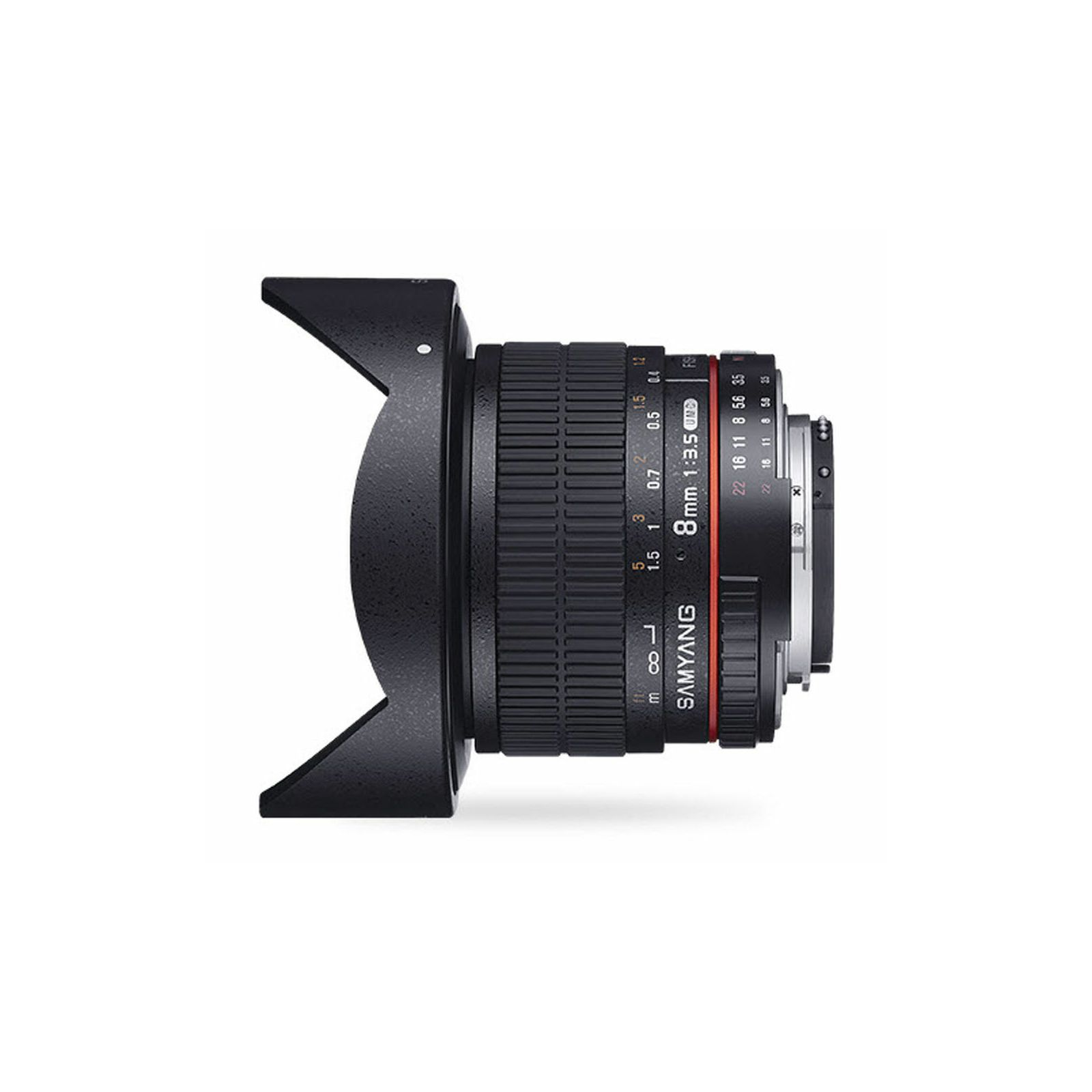Samyang 8mm f/3.5 CS II IF MC Aspherical Fisheye objektiv za Canon