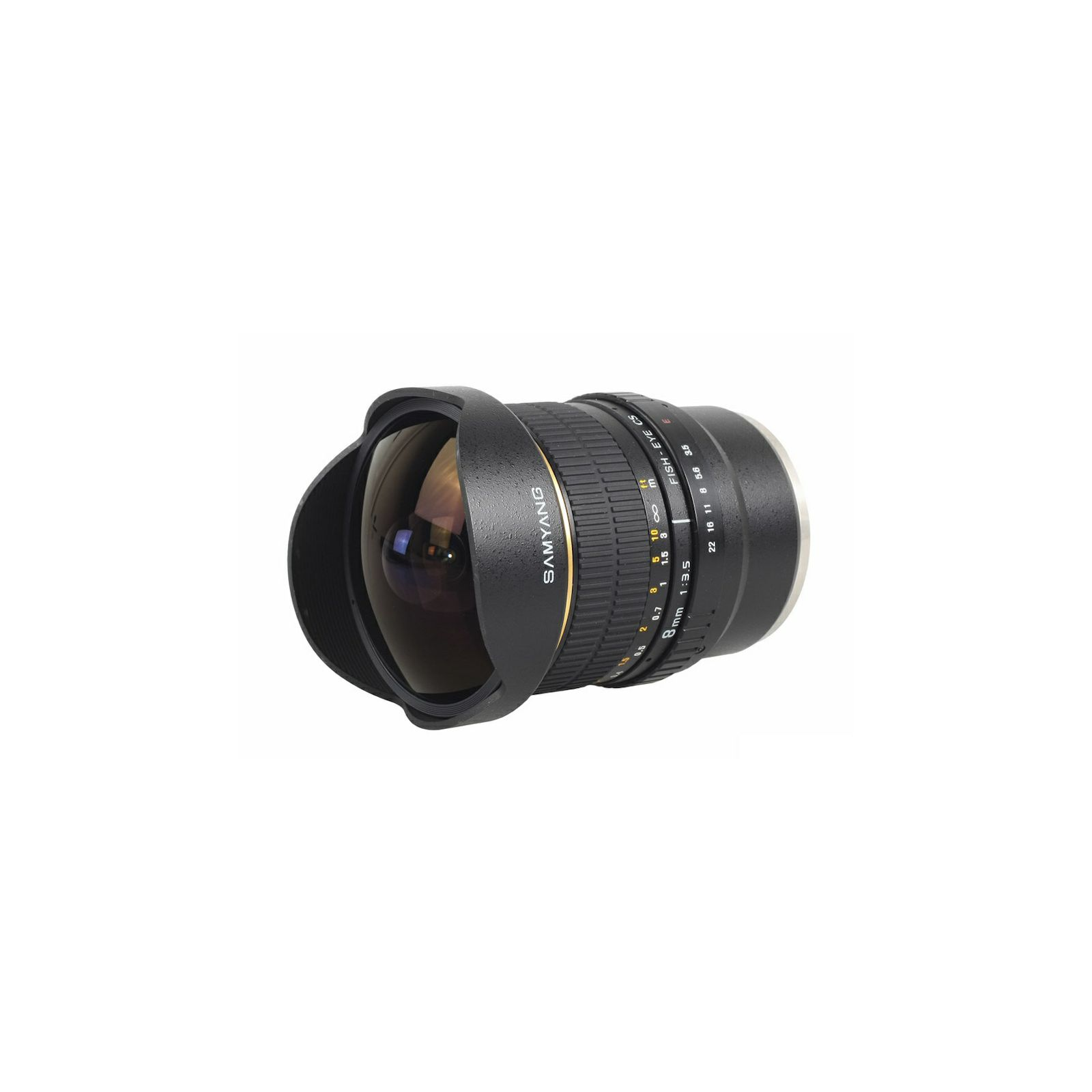 Samyang 8mm F3,5 Sony Fish-eye E - Mount VG-10 Edition