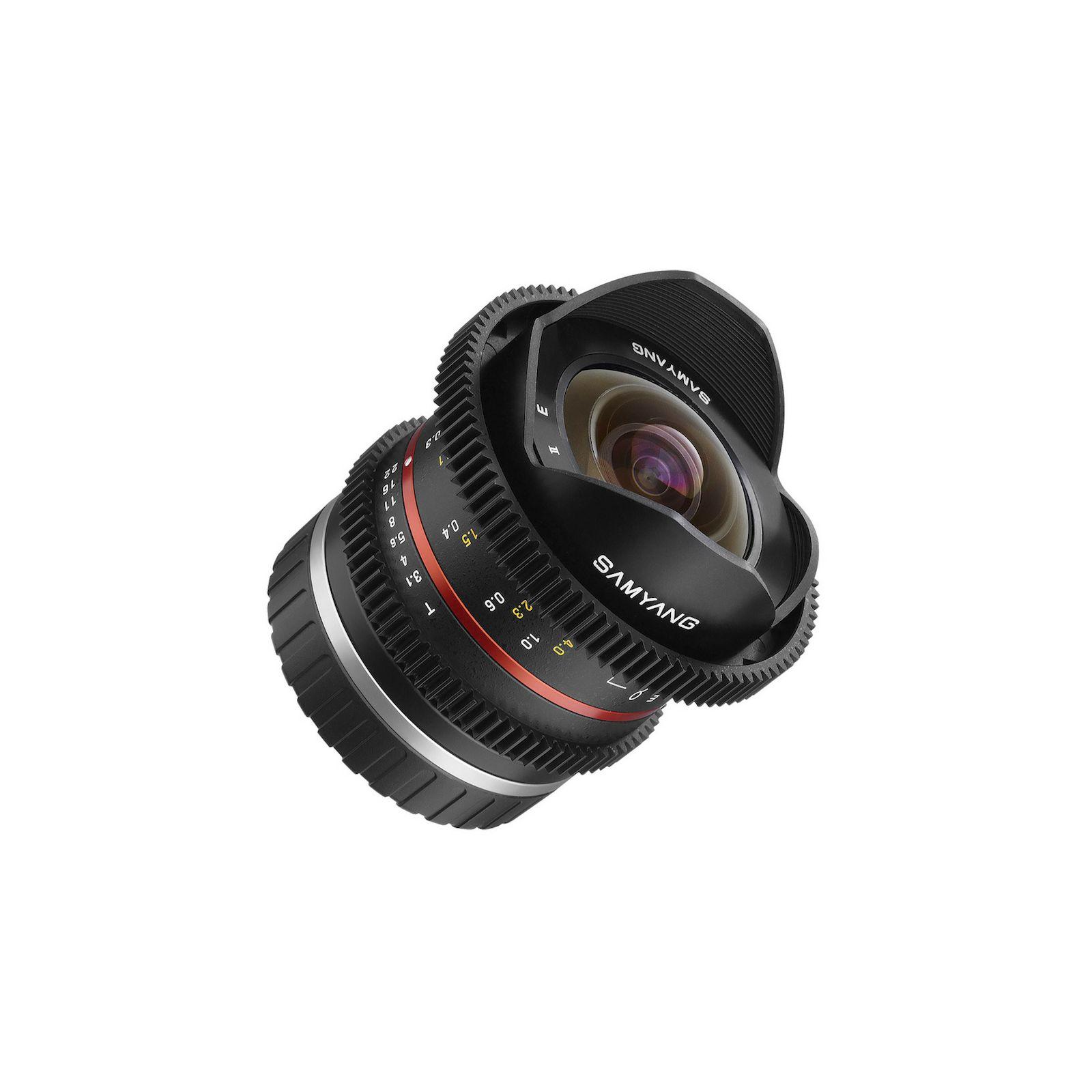 Samyang 8mm T3.1 VDSLR Canon M