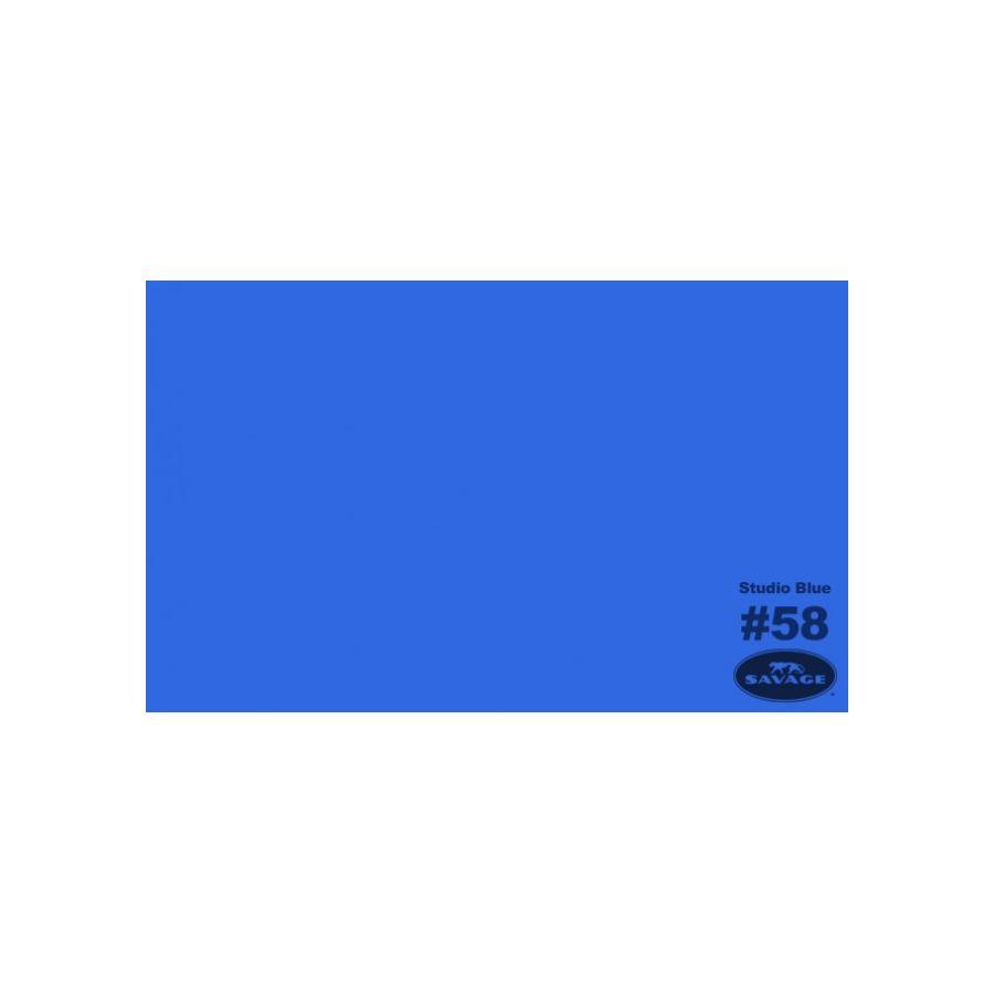 Savage plava (Studio Blue) Chroma key papirnata pozadina 1,36x11m