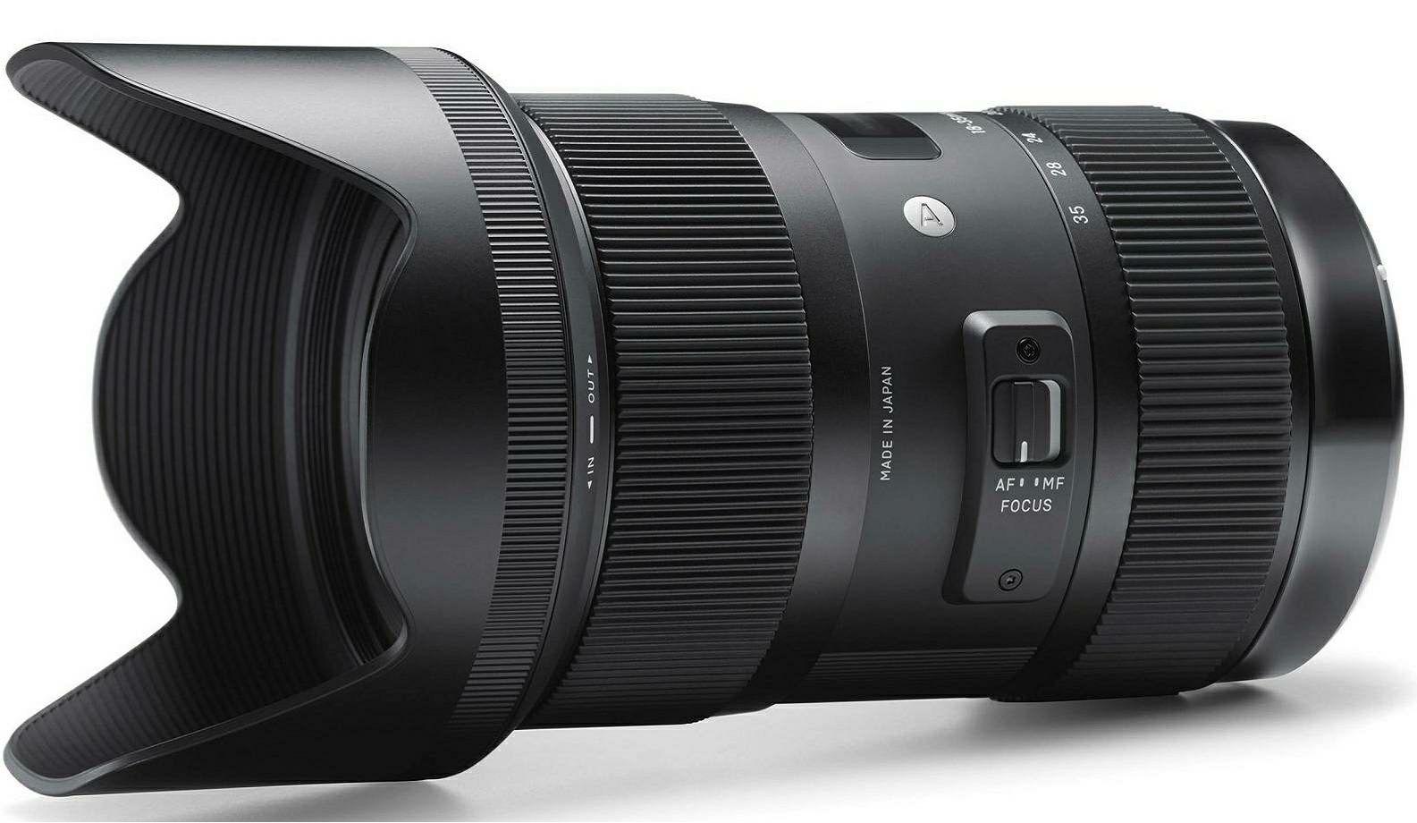 Sigma 18-35mm f/1.8 DC HSM ART širokokutni objektiv za Sigma SA 18-35 F/1,8 F1.8 1.8 wide angle zoom lens (210110)