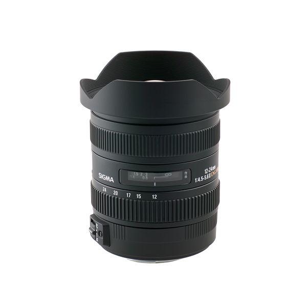 Sigma 12-24mm f/4.5-5.6 DG HSM II ultra širokokutni objektiv za Canon EF Wide angle zoom Lens 12-24/4,5-5,6 12-24 F4.5-5.6