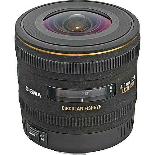 Sigma 4.5mm f/2.8 EX DC HSM Fisheye objektiv za Sigma SA cirkularni fish-eye lens 4,5 F2.8 4,5/2,8 f/2,8 (486956)