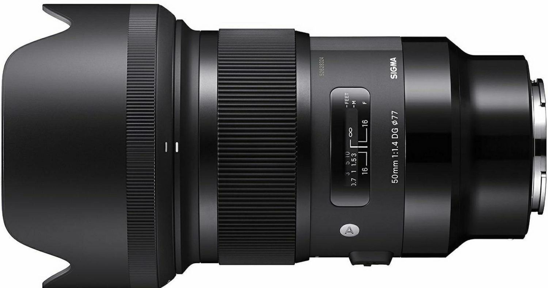 Sigma 50mm f/1.4 DG HSM ART objektiv za Sony E-mount Full Frame FE ...