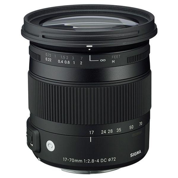 Sigma 17-70mm f/2.8-4 DC OS HSM Macro Contemporary standardni zoom objektiv za Canon EF-S 17-70 F2.8-4.0 17-70/2,8-4,0 2,8-4 (884954)