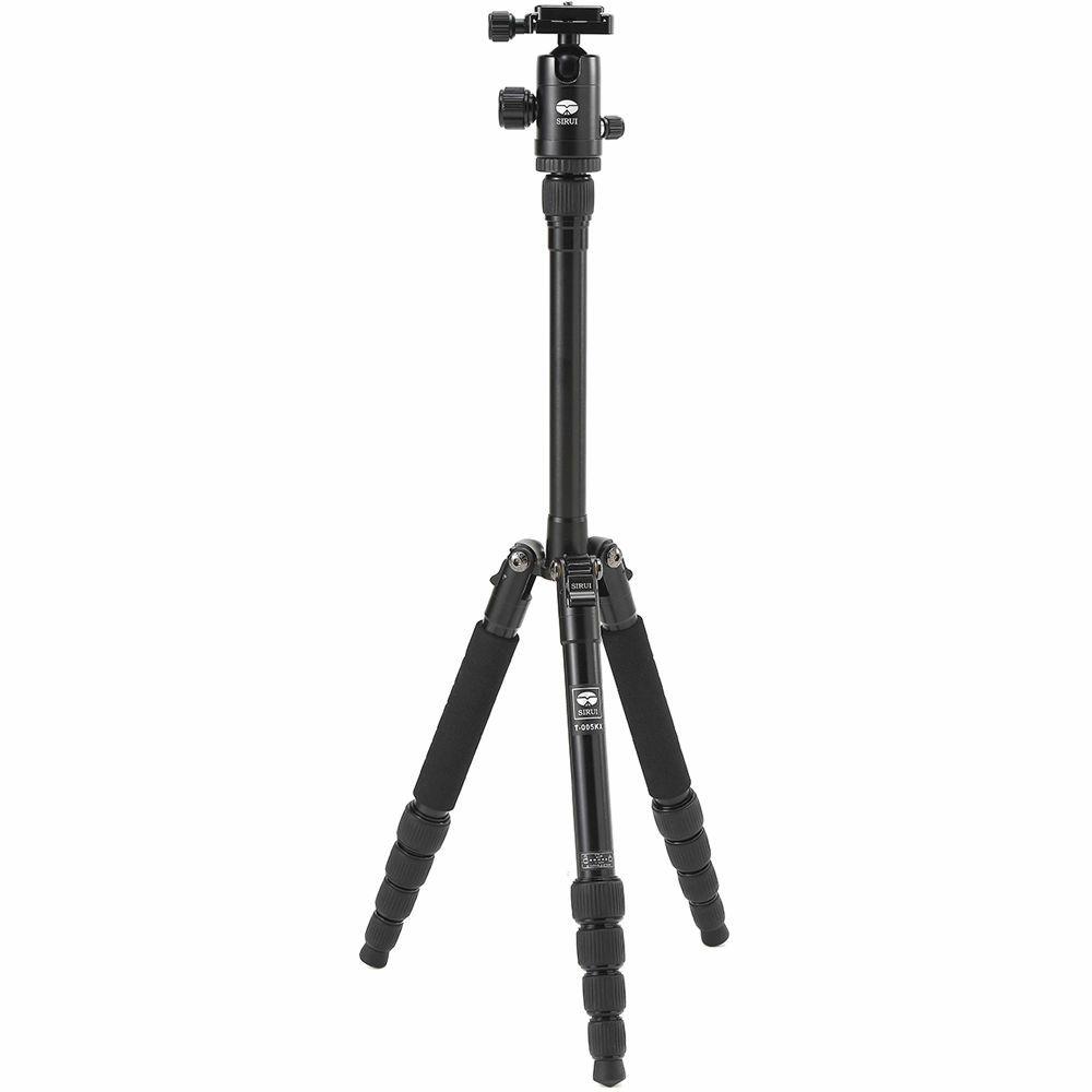 Sirui T-005X 137cm 4kg Black Aluminum Tripod aluminijski stativ + C-10S kuglasta glava Ball Head