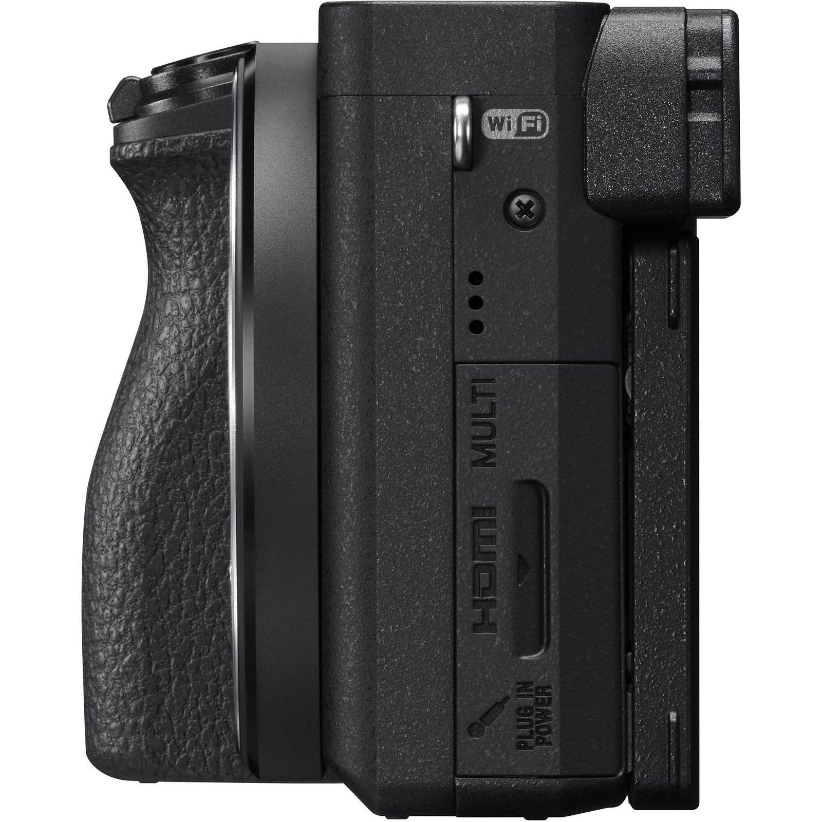 Sony Alpha A6500 18 135 F 35 56 Oss Mirrorless Digitalni Playstation Network Card Idr 200000 Kit Black