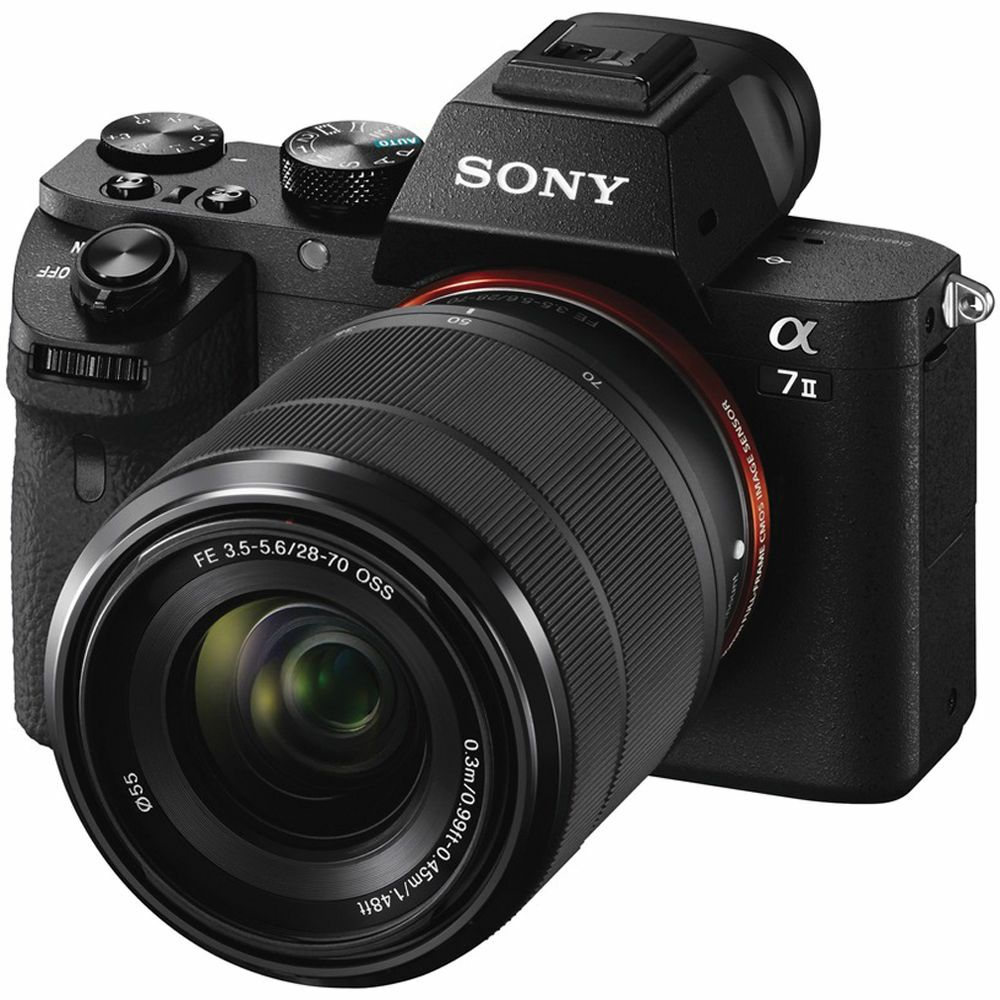 Sony Alpha a7 II + 28-70 f/3.5-5.6 OSS KIT Mirrorless Digital Camera bezrcalni digitalni fotoaparat i standardni objektiv SEL2870 28-70mm F3.5-5.6 ILCE-7M2KB ILCE7M2KB ILCE7M2KB.CEC