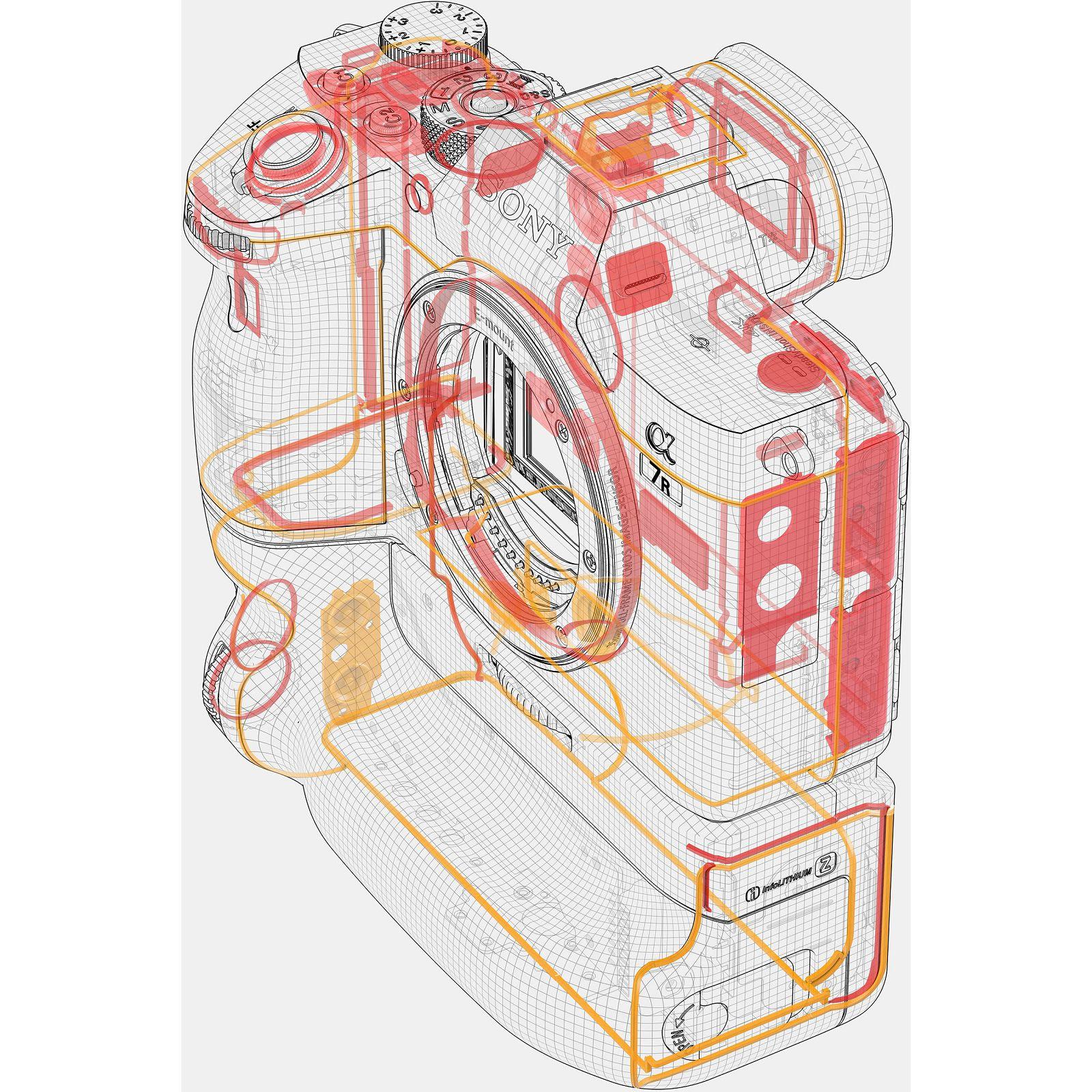 Sony Alpha a7R III Body Mirrorless digitalni fotoaparat tijelo Full