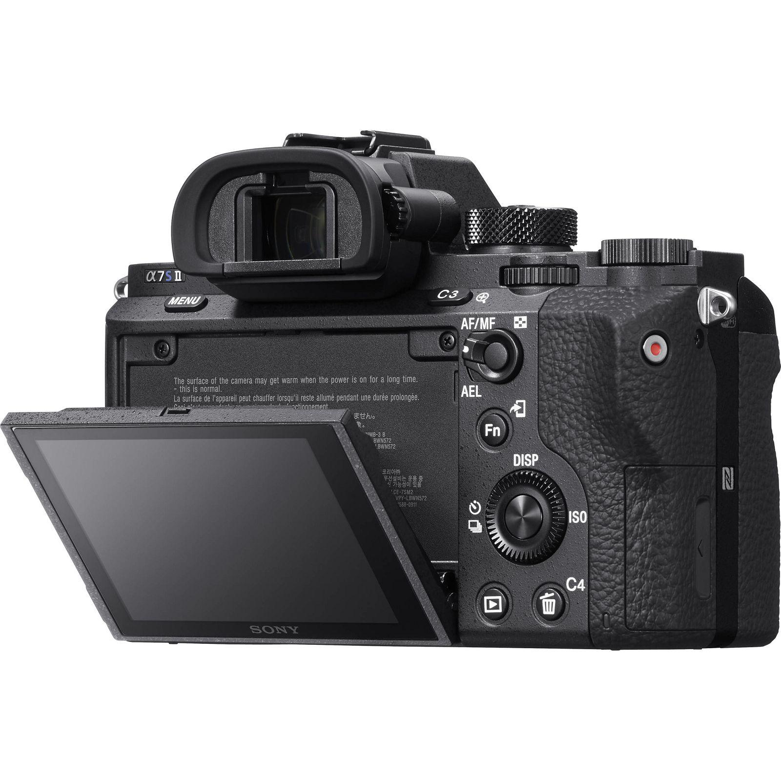 Sony Alpha A7s Ii Body Mirrorless Digital Camera Bezrcalni Digitalni L Plate Bracket Kamera A7 A7r Fotoaparat Tijelo Full Frame A7sii Mk Ilce 7sm2b Ilce7sm2b Ilce7sm2bcec
