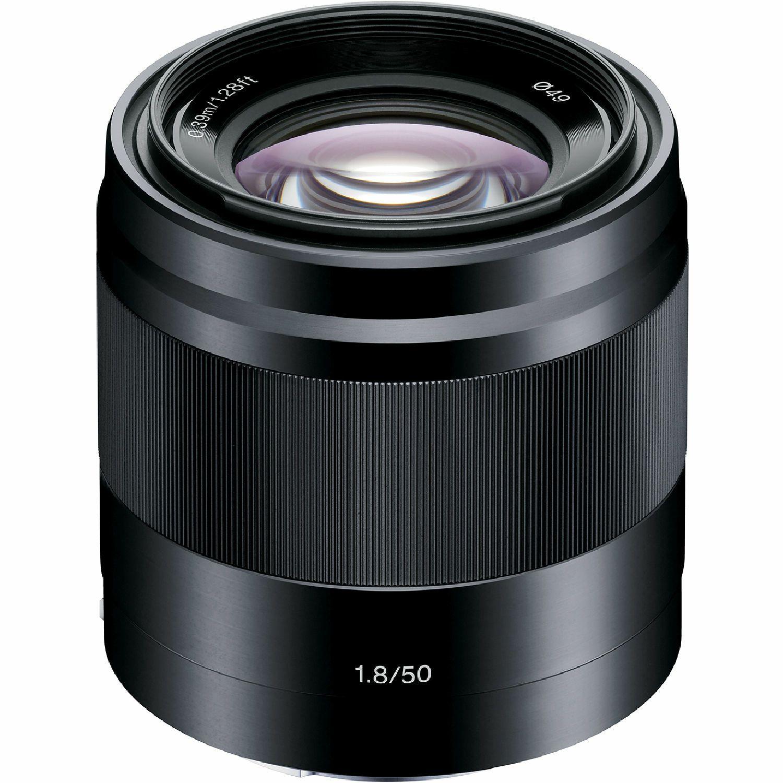 Sony E 50mm f/1.8 OSS Black crni portretni standardni objektiv za E-mount 50 F1.8 1.8 f/1,8 SEL-50F18B SEL50F18B (SEL50F18B.AE) - Cash Back