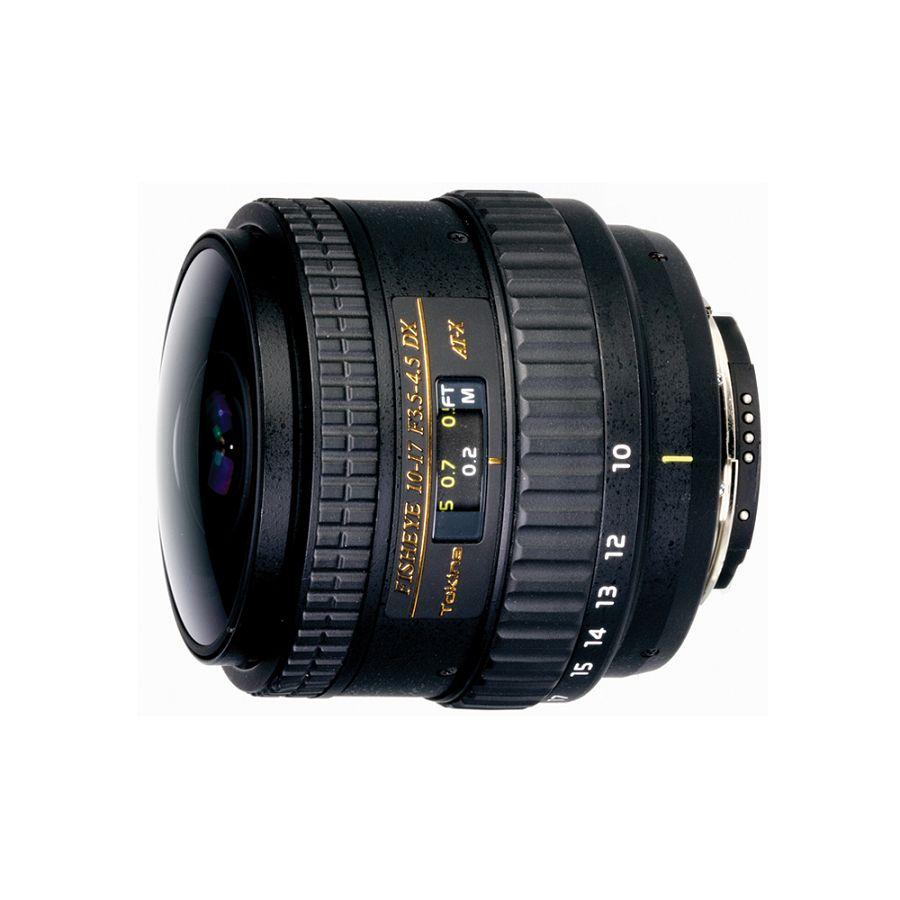 Tokina AT-X 107 AF 10-17mm DX NH Fisheye za Canon (Bez sjenila)