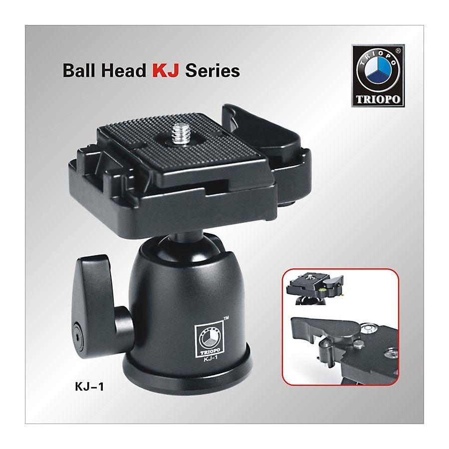 Triopo KJ-1 kuglasta glava Ball head