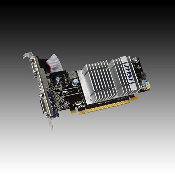 Video Card MSI ATI Radeon 5450 GDDR3 512MB/128bit, 650MHz/1200MHz, PCI-E 2.1 x16, HDMI, DVI, DisplayPort, Retail