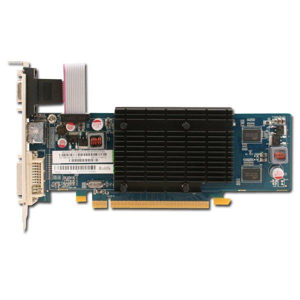 Video Card SAPPHIRE Radeon HD 5450 DDR3 1GB/64bit, 650MHz/800MHz, PCI-E 2.1 x16, HDTV+HDCP,HDMI,DVI,VGA, VGA Heatsink, Lite Retail