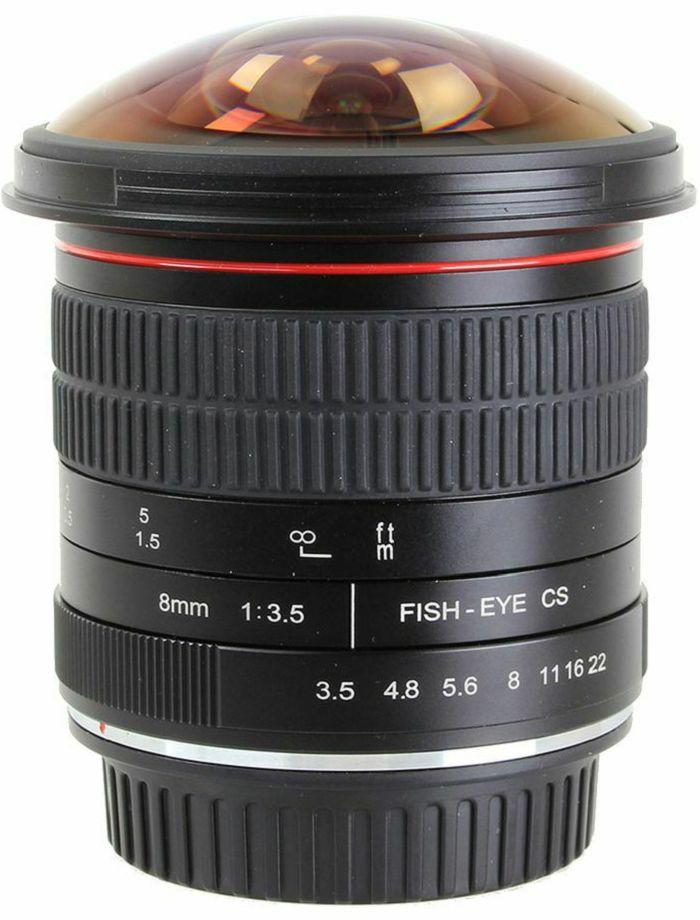 Voking 8mm F3.5 fisheye objektiv za Canon EF (VK8-3.5-C) Fish-Eye lens