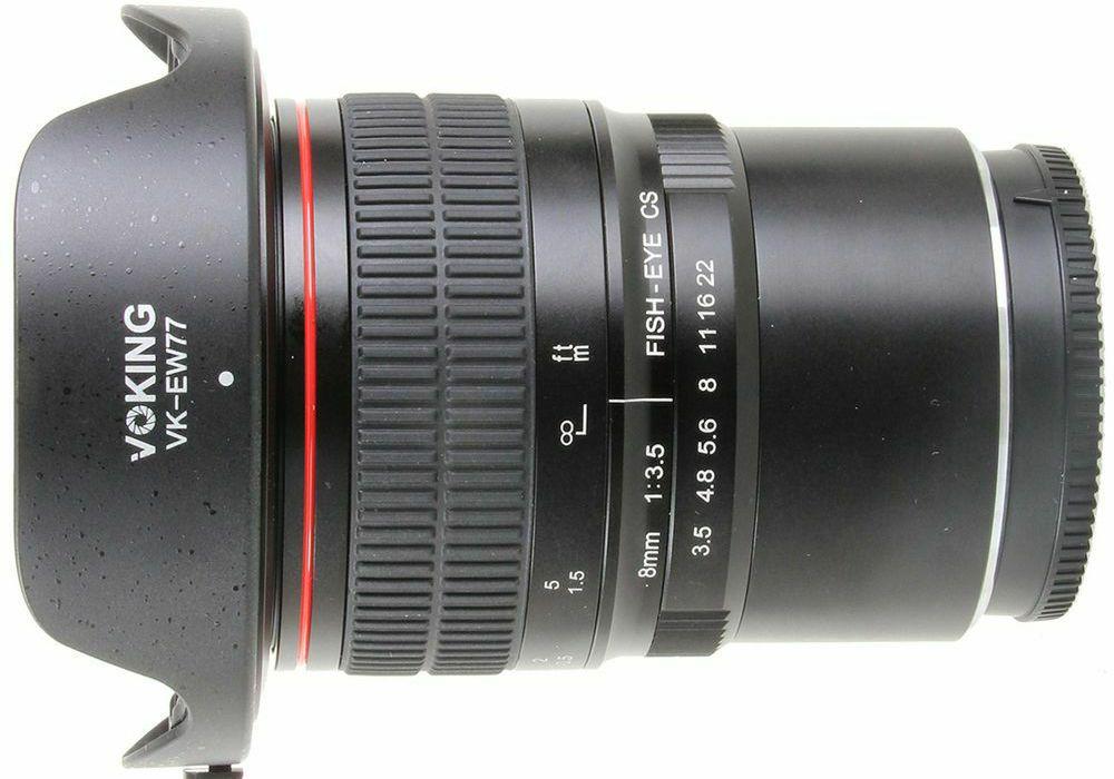 Voking 8mm F3.5 fisheye objektiv za Nikon N1 (VK8-3.5-N-1) Fish-Eye lens