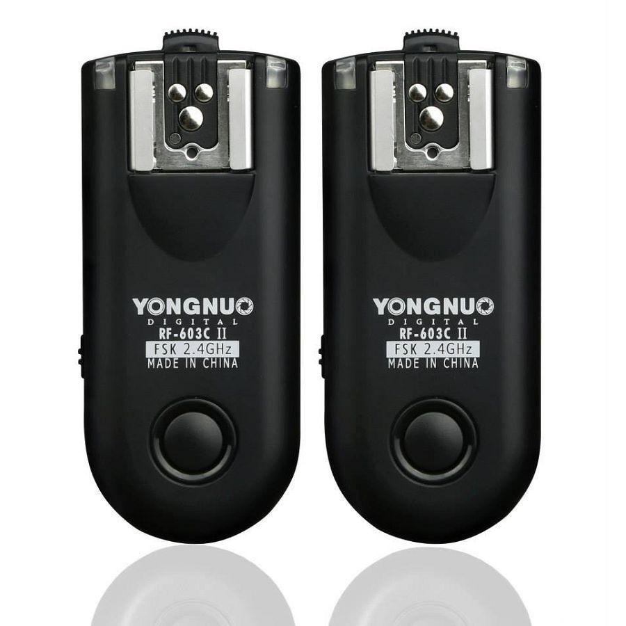 Yongnuo RF-603 II N3 RF-603IINX2-N3 Nikon wireless flash trigger